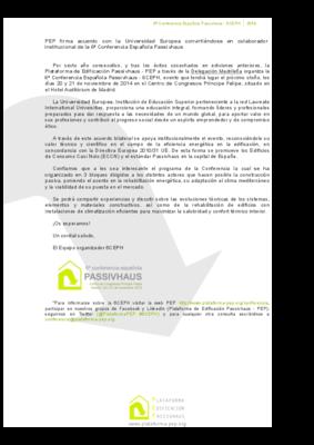 6ceph notas de prensa 2014 11 convenio universidad europea