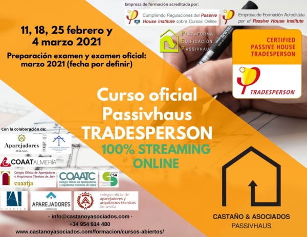 Tradesperson del 11 febrero al 4 marzo