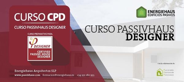 Calendario curso cpd passivhaus designer