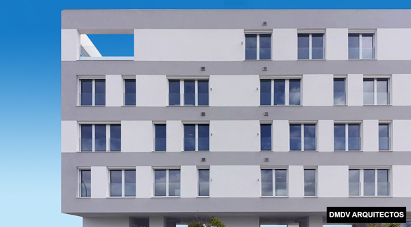 Alzado frontal dmdv arquitectos
