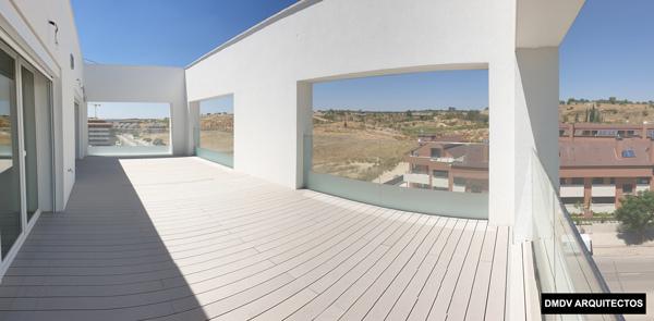 Passivhaus terraza atico