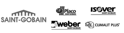 Saint-Gobail 5 logos